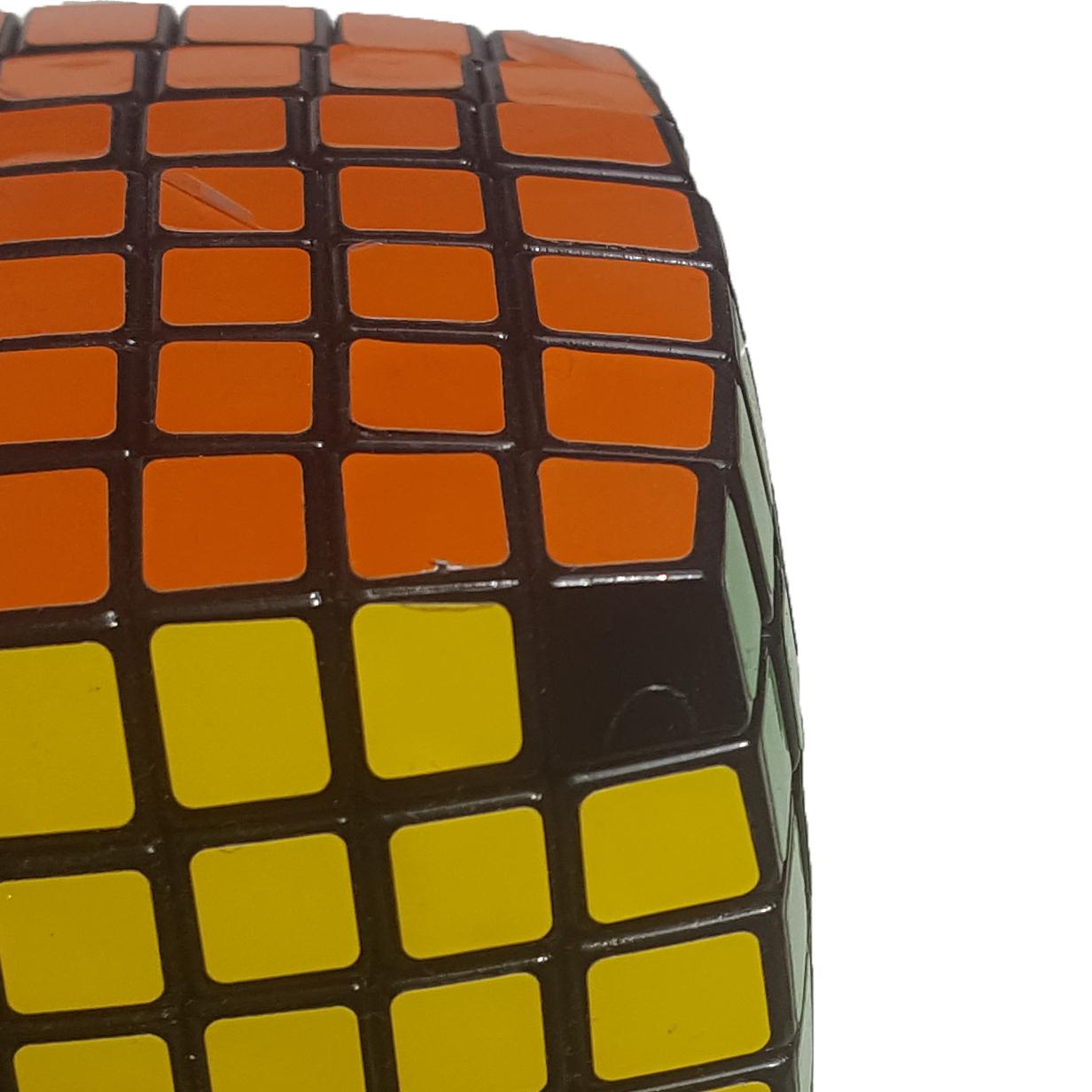 zauberwürfel 7x7 aufkleber