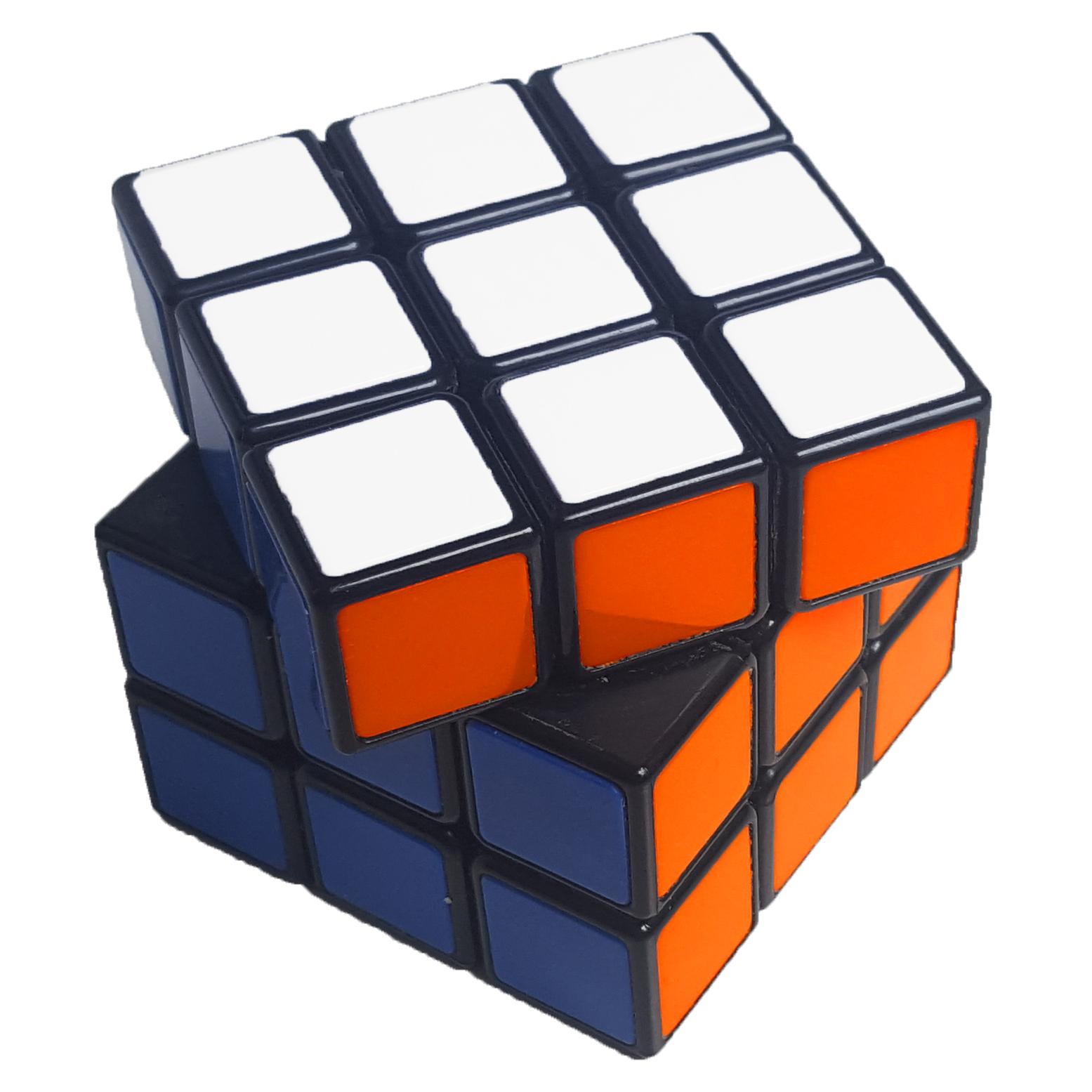 rubik's cube gedreht