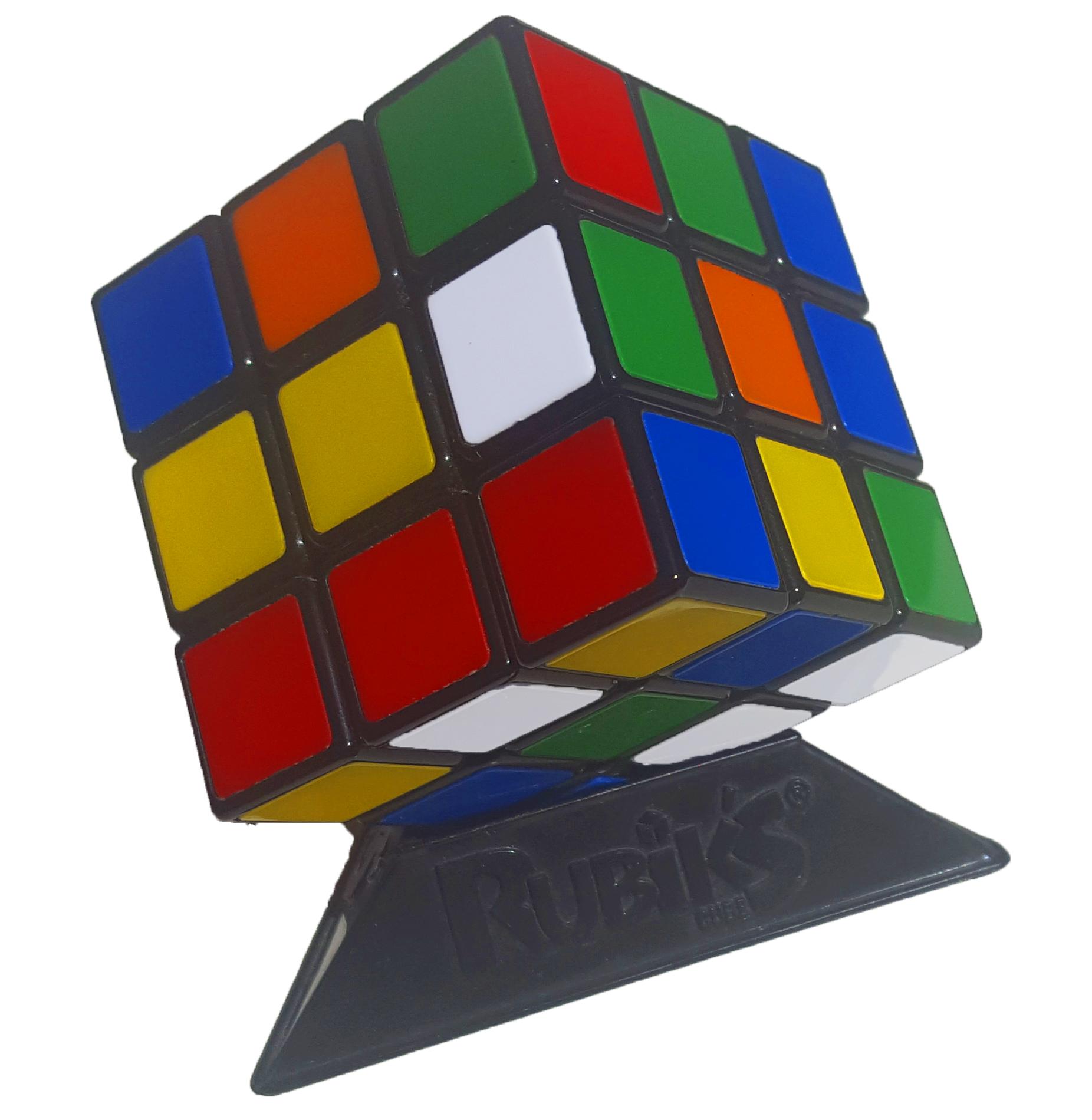 original rubik's cube mit podest